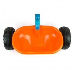 Rowerek dziecięcy 3-kołowy z rączką TURBO Candy Milly Mally