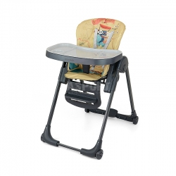 Krzesełko do karmienia + leżaczek do 3 lat MILANO PANDA Milly Mally