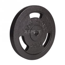 Obciążenie żeliwne, talerz 20kg Hop-Sport