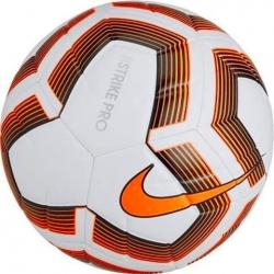 Piłka nożna Nike Strike Pro Team FIFA biało-pomarańczowa r.5