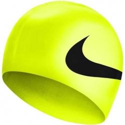 Czepek pływacki NIKE Big Swoosh żółty neonowy