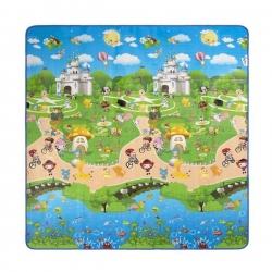 Koc piknikowy dziecięcy 180x180 PVC EPE ALU NC8007 NILS CAMP