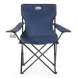 Krzesło turystyczne ciemnoniebieskie NC3044 NILS CAMP