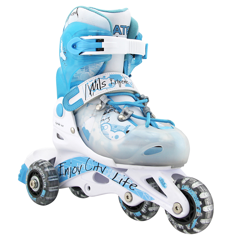 2 IN1 Kinder Inlineskates Rollschuhe größenverstellbar NJ 2016 A Nils