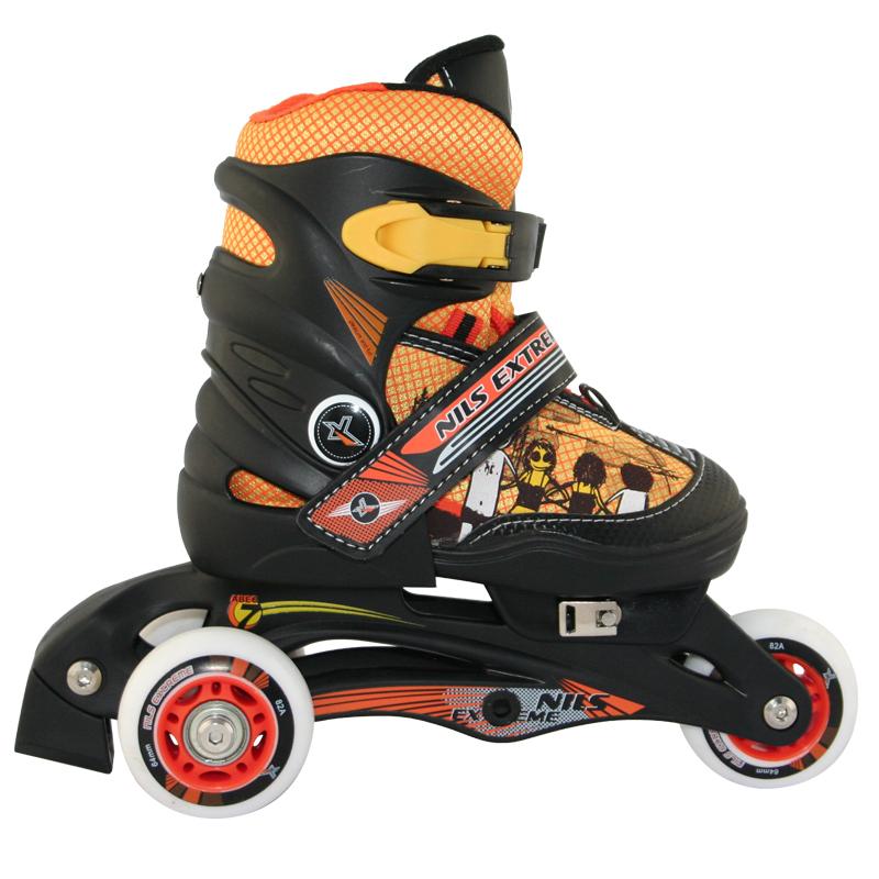 5658c503716 2IN1 Kinder Inlineskates Rollschuhe Inline Skates INLINER größenverstellbar  Nils