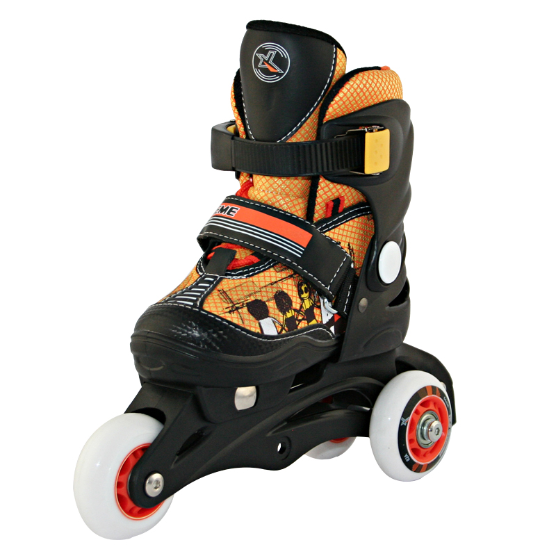 2 IN1 Kinder Inlineskates Rollschuhe größenverstellbar NJ 9128 Nils | eBay