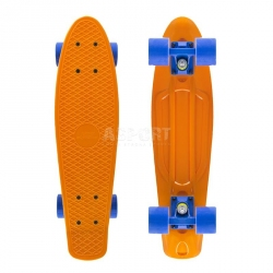 Deskorolka, pennyboard pomarańczowa 56cm Nils Extreme
