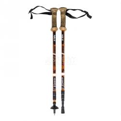 Kije trekkingowe, regulowana długość 65-135 cm, Anti-Shock TK696 Nils