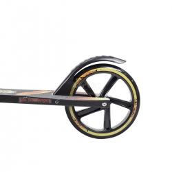 Hulajnoga 2-kołowa, składana, dziecięca, młodzieżowa HA205 czarna Nils