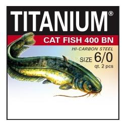 Haczyki bez przyponów, sumowe CAT FISH 400 BN 2szt. Robinson