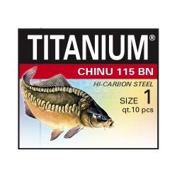 Haczyki bez przyponów, karpiowe CHINU 115 BN PRO CARP 10szt. Robinson