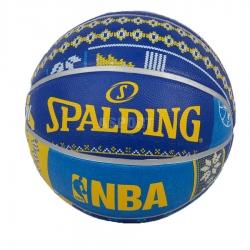 Piłka do kosza, koszykówki NBA SWEATER TEAM GOLDEN STATE Spalding