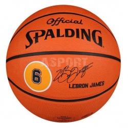 Piłka do kosza, koszykówki NBA PLAYER LEBRON JAMES Spalding
