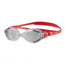 Okulary pływackie FUTURA BIOFUSE FLEXISEAL przezroczysto-czerwone Speedo