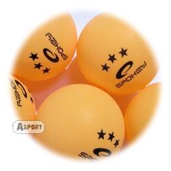 Piłeczki do tenisa stołowego SPECIAL 6szt pomarańczowe Spokey