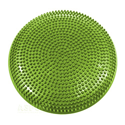 Dysk do masażu, poduszka FITSEAT zielony 32,5 cm Spokey