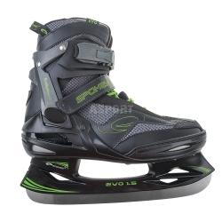 Łyżwy hokejowe, hokejówki, sznurowane EVO 1.5 Spokey