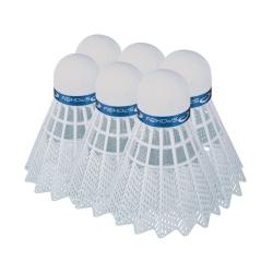 Lotki do badmintona plastikowe SHOOT 6szt. średnie Spokey