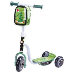 Hulajnoga 3-kołowa, dziecięca + torebka na kierownicę DINNO Spokey