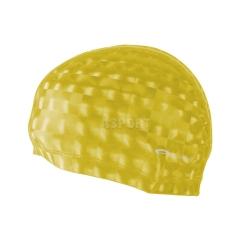 Czepek pływacki, dwuwarstwowy TORPEDO 3D żółty Spokey