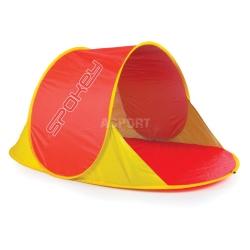 Parawan, namiot plażowy NIMBUS czerwony Spokey