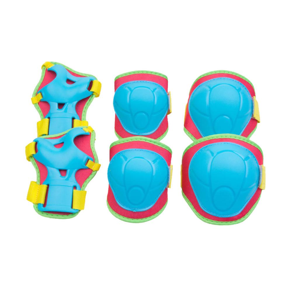 Kinder Inlineskating Schutzausrüstung Schonerset Schoner BUFFER grün Spokey