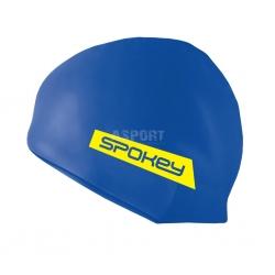 Silikonowy czepek pływacki FREESTYLE niebieski Spokey