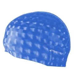Czepek pływacki, dwuwarstwowy TORPEDO 3D niebieski Spokey