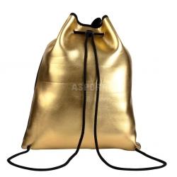 Plecak sportowy, worek PURSE złoty Spokey