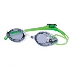 Okulary pływackie, filtr UV CRACKER zielone Spokey