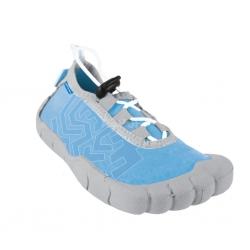Obuwie plażowe, buty do wody damskie REEF niebiesko-szare Spokey