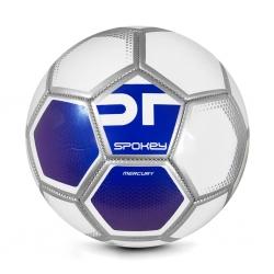 Piłka nożna MERCURY biało-niebieska rozm. 5 Spokey