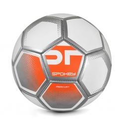 Piłka nożna MERCURY biało-pomarańczowa rozm. 5 Spokey