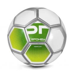 Piłka nożna MERCURY biało-zielona rozm. 5 Spokey