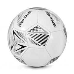 Piłka nożna STENCIL WT/GY rozm. 5 Spokey