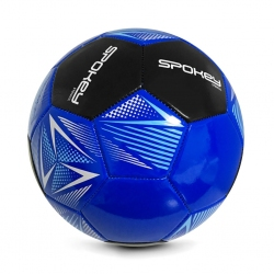 Piłka nożna STENCIL BL/BK rozm. 5 Spokey