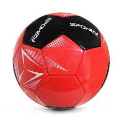 Piłka nożna STENCIL RD/BK rozm. 5 Spokey