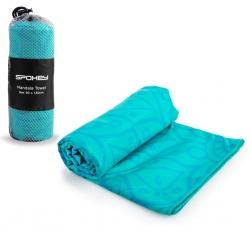 Ręcznik szybkoschnący MANDALA TOWEL turkusowy Spokey