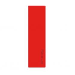 Mata samopompująca 180x50x5cm FATTY czerwona Spokey