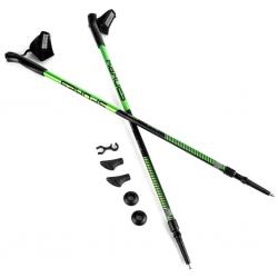 Kije Nordic Walking 105-135 cm MEADOW II zielono-czarne Spokey