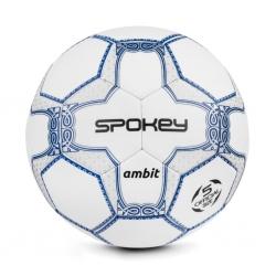 Piłka nożna AMBIT biała, rozmiar 5 Spokey