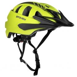 Kask rowerowy SPEED zielono-czarny, Spokey