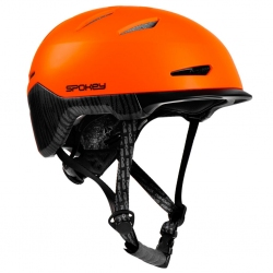 Kask rowerowy DOWNTOWN Spokey pomarańczowy