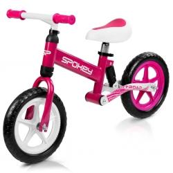 Rowerek biegowy dla dziewczynki OFF-ROAD różowy Spokey