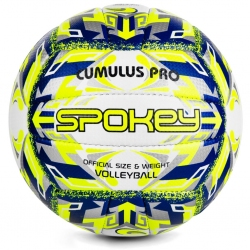 Piłka siatkowa r. 5 CUMULUS PRO żółta Spokey