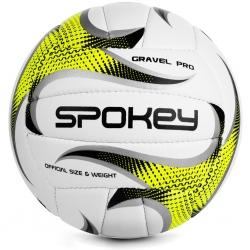 Piłka siatkowa GRAVEL PRO biało-żółta Spokey