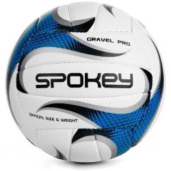 Piłka siatkowa GRAVEL PRO biało-niebieska Spokey
