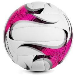 Piłka siatkowa GRAVEL PRO biało-różowa Spokey