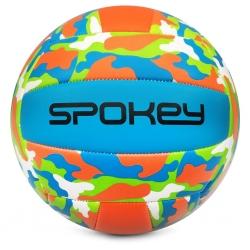 Piłka siatkowa MALIBU turkusowo-zielona Spokey