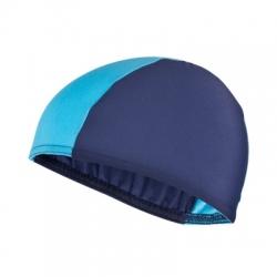 Czepek pływacki materiałowy LYCRAS granatowo-niebieski Spokey